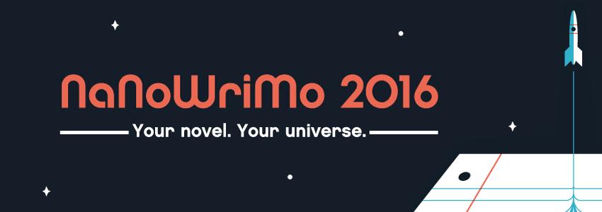Bannière du Nanowrimo 2016