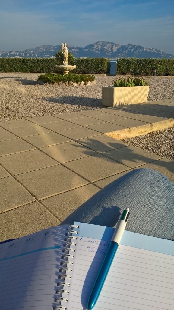 Bloguer au soleil de Marseille