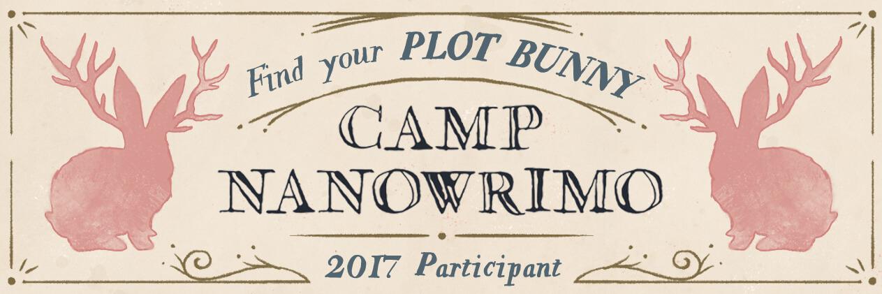 Bannière participant au Camp NanoWrimo 2017